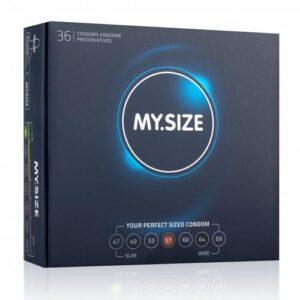 MY.SIZE 57 mm Condooms 36 stuks #1