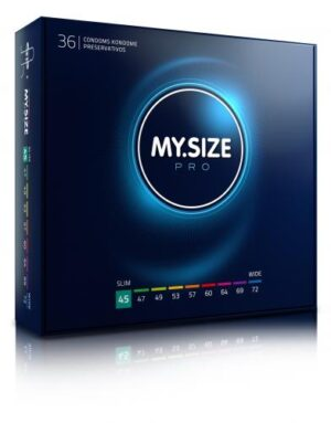 MY.SIZE Pro 45 mm Condooms 36 stuks #1