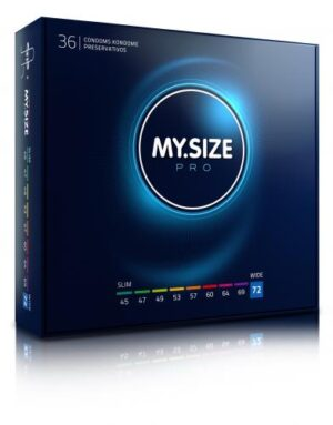 MY.SIZE Pro 72 mm Condooms 36 stuks #1