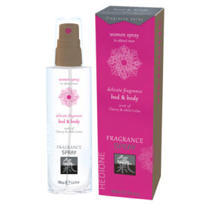 Feromonen Bed & Body Spray Voor Vrouwen - Kers & Witte Lotus #1