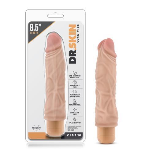 Dr. Skin - Cock Vibe no10 Vibrator - Beige #11