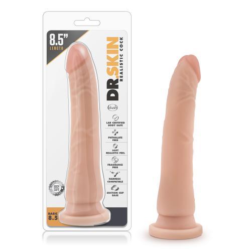 Dr. Skin - Realistische Dildo Met Zuignap 21 cm - Beige #11