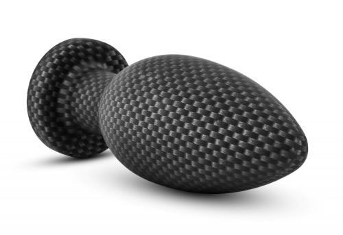 Spark - Siliconen Anaal Plug Carbon Fiber - Small #3