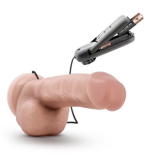 Dr. Skin - Dr. Jay Vibrator Met Zuignap 22 cm - Beige #9