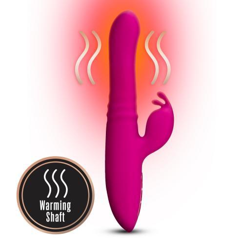 Lush Kira Rabbit Vibrator - Velvet Roze #3