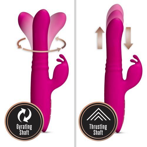 Lush Kira Rabbit Vibrator - Velvet Roze #5