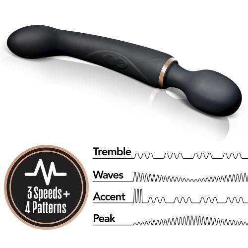 Lush Gia Dubbele Vibrator - Zwart #5