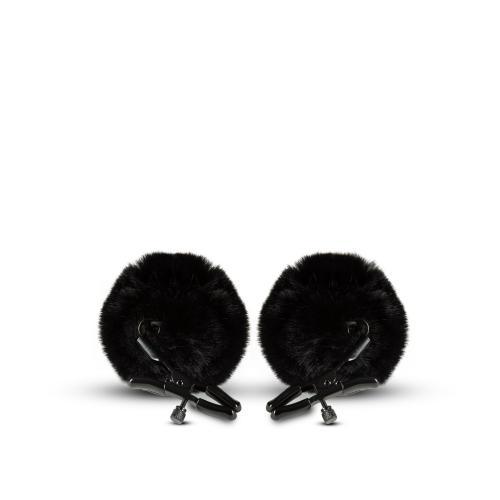 Noir - Verstelbare Tepelklemmen - Zwart #1