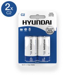 Super Alkaline C-Batterijen - 2 Stuks #1