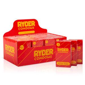 Ryder Condooms - 24 x 3 Stuks #1