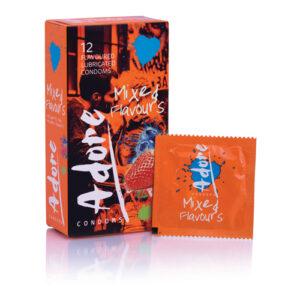 Adore Flavours Condooms - 12 Stuks #1