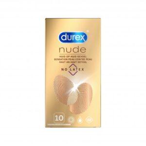 Durex Nude No Latex - 10 Stuks #1