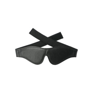 Strict Leather Velcro Blindfold #1